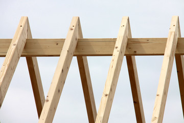 Dachstuhl Holzbau