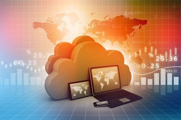 Electronic Devices with  cloud server.