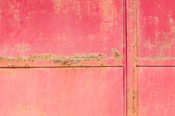 red metal rust