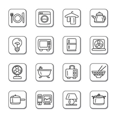 Houseware Doodle Icons