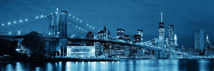 Fototapete - Manhattan Downtown