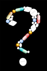 Medicine Question Mark