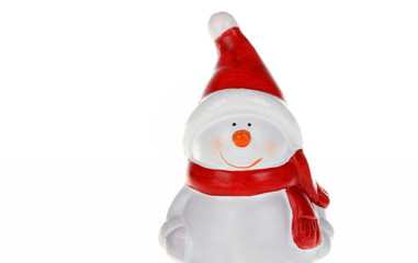 Christmas figurine of snowman
