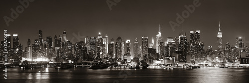 Wall mural Midtown Manhattan skyline