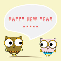 Happy new year greeting card6