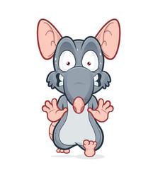 Running scared rat