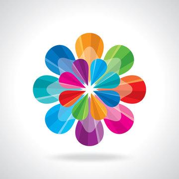 creative abstract circle design
