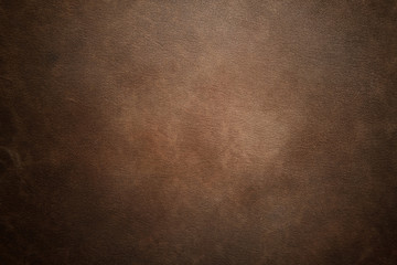 Brown leather texture background Wall mural