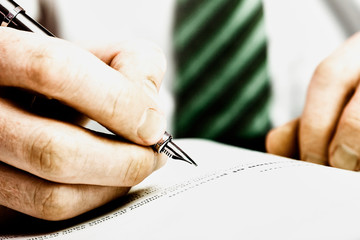 Fountain Pen Signature.