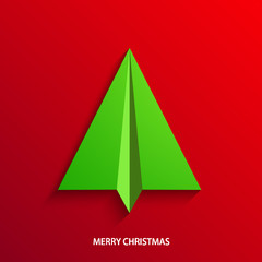 vector concept christmas tree