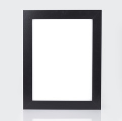 photo of black picture frame