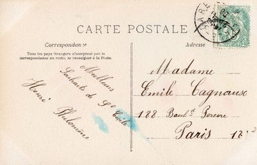 French Antique Postcard 37
