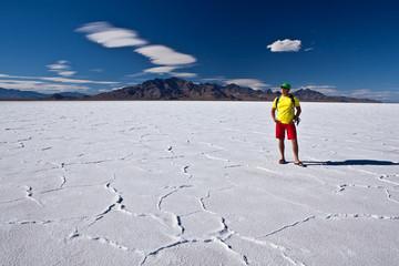 Summer vacation in USA - Bonneville salt flats