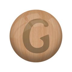 Boule de bois : G