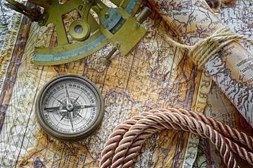vintage marine still life