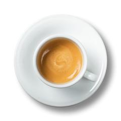 Zelfklevend Fotobehang Koffiebonen Caffè espresso