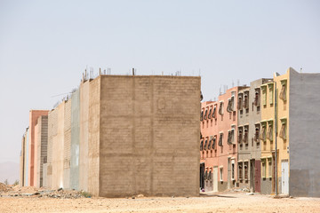Rapid urban development and grow in Morocco