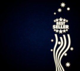 a best seller design with stars
