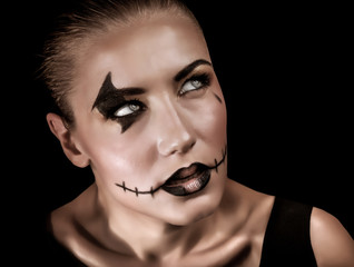 Halloween celebration concept