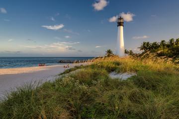 Beach, Cape Florida Lighthouse, Florida, USA