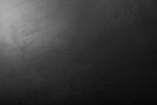 lavagna nera in penombra