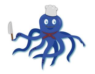Octopus cook