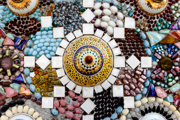 The mosaic of Chinaware