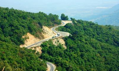 Wonderful scene, Ngoan Muc mountain pass