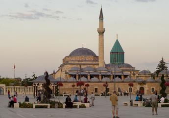 Mevlana Tekkesi Mosque in Konya 3