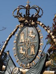 Escudo en el Alcazar de Segovia