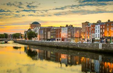 Irland-Dublin Fototapete