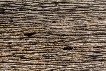 Original ground wood.