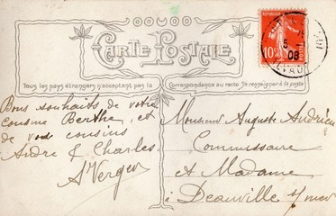 French Antique Postcard 47