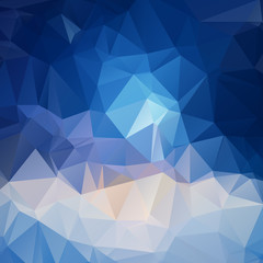 Abstract geometric background - vector illustration