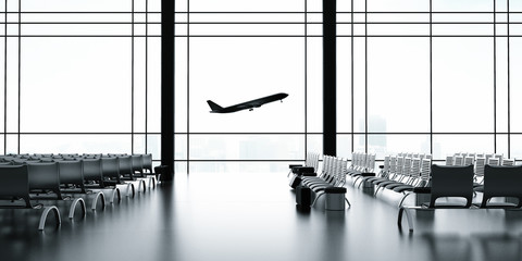 Wall Mural - airliner