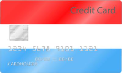Kreditkarte Niederlande Design