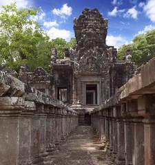 Chau Say Thevoda Angkor Temple Extrior, Siem Reap, Cambodia