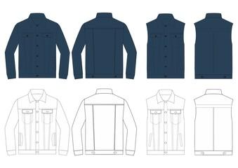 search photos denim jacket