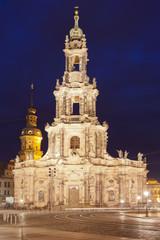 Dresden - Germany - Cathedral Sanctis simae Trinitatis