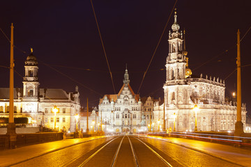 Dresden - Germany - Augustus bridge