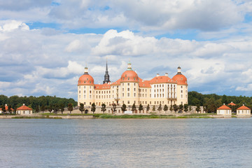 Dresden - Germany - Historic castle of Moritzburg