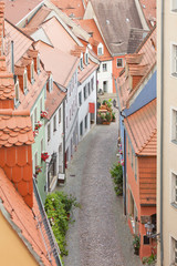 Meissen - Germany - Old alley