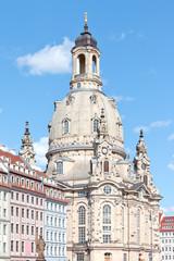 Dresden - Germany - Church in the sun