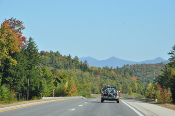 Fall Foliage at White Mountain National Forest in New Hampshire