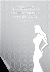 Internation Women Day Vector Design Template