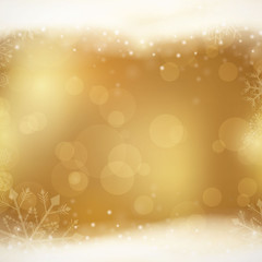 Vector Illustration of an Elegant Christmas Background