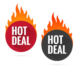 Hot price labels