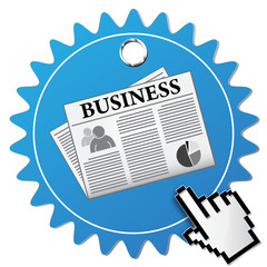 BUSINESS NEWSPAPER ICON