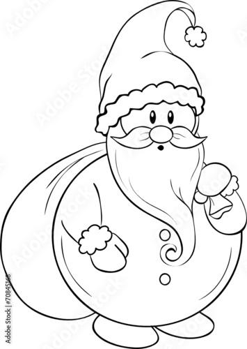 """""""lustiger weihnachtsmann ausmalbild"""" stockfotos und"""