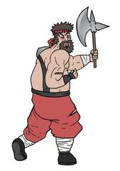 Barbarian cartoon